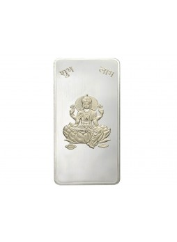 50gm Laxmi Non Colour 999  Purity Silver Bar